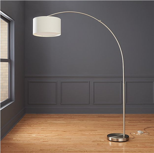 arched floor standing lamp