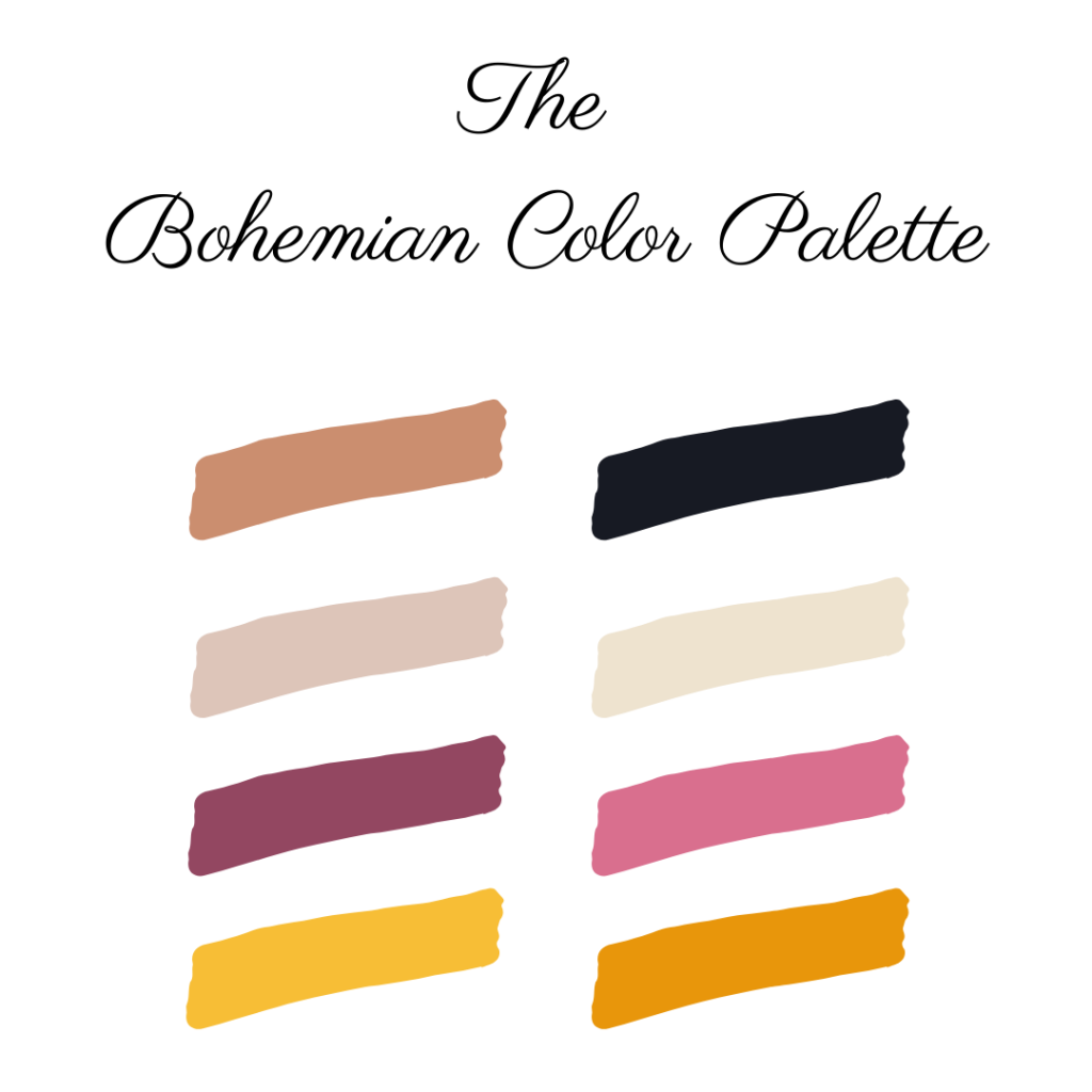 Bohemian Color Palette
