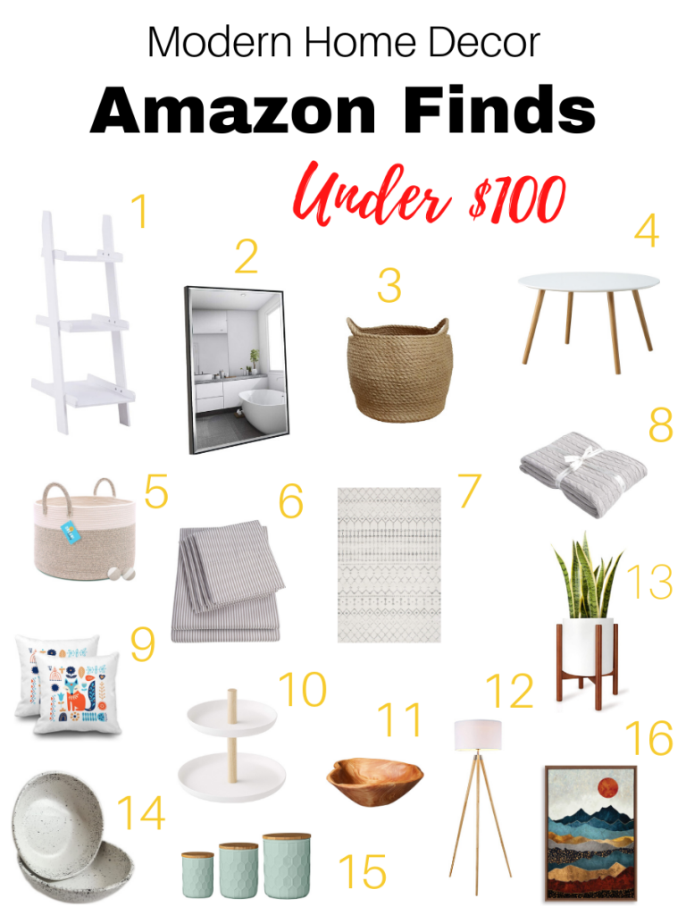 Scandinavian furnishing and accessories from Amazon for under $100