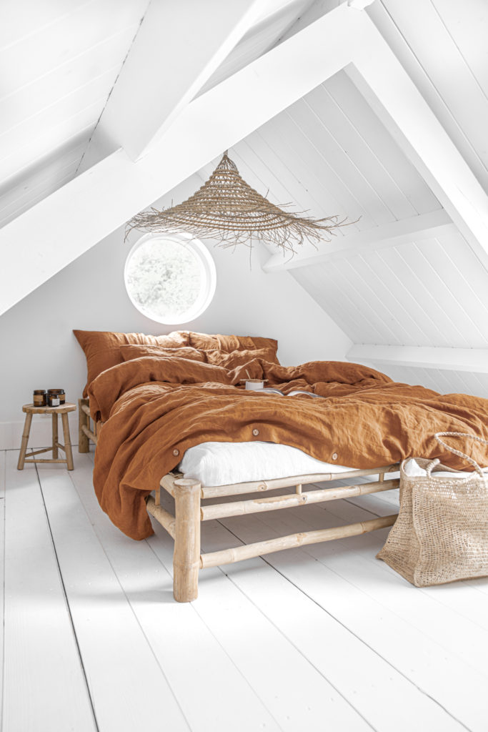 Brown bed sheets from MagicLinen