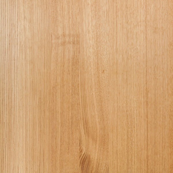 showing the grain of finished oak