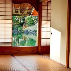 entrance hall to japanese home