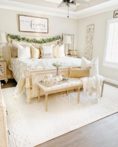 Chriselda French Country Bedroom