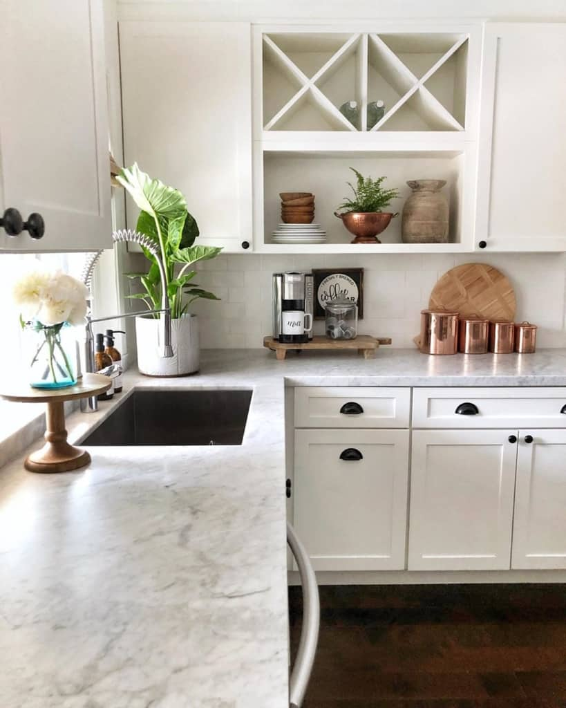 Marble kitchen