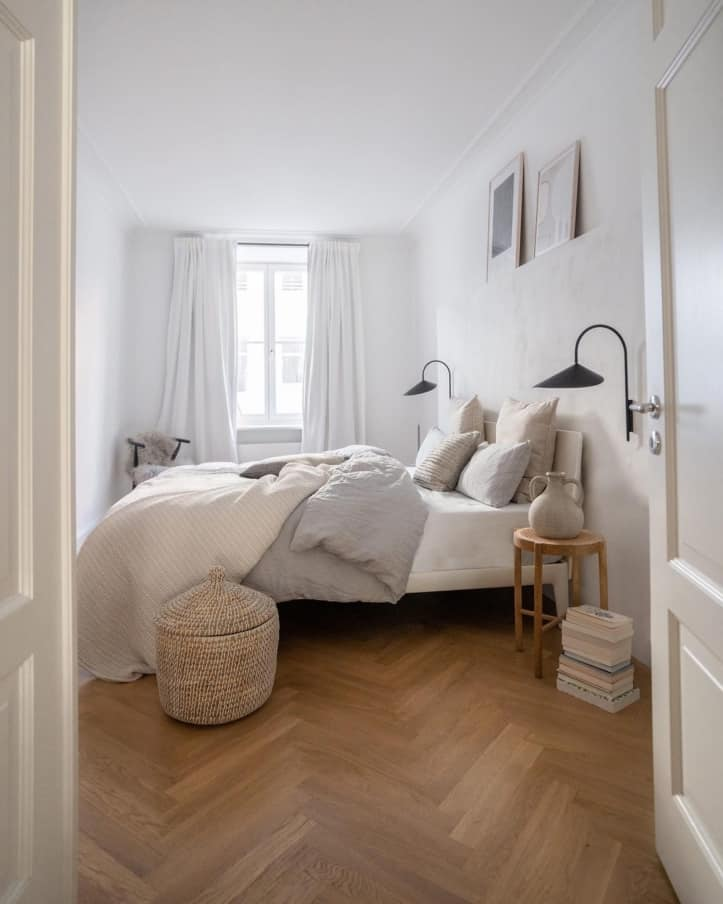 Scandinavian Interior Bedroom Full